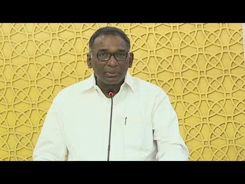 Undavalli with YSR Book Launch Live | Jasti Chelameswar Speech