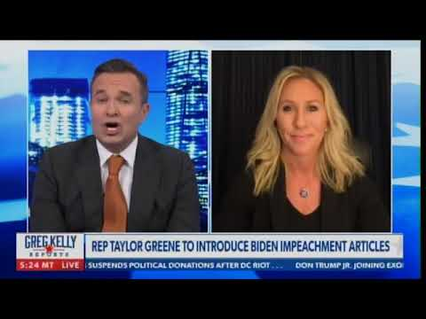Marjorie Taylor Greene says she will introduce impeachment articles ...