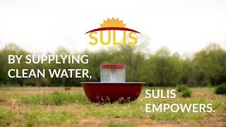 SULIS - MAKING WATER SCARCITY A THING OF THE PAST
