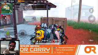 PUBGM Morning stream Practise! OrangeRock Carry