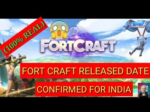 [100% REAL] FORT CRAFT GAME RELEASED DATE CONFIRMED FOR INDIA -- (MUST WATCH) - 동영상