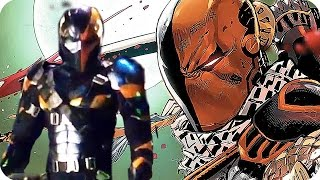 DCs DEATHSTROKE Explained: Character Breakdown | Ben Affleck's Batman Movie Villain