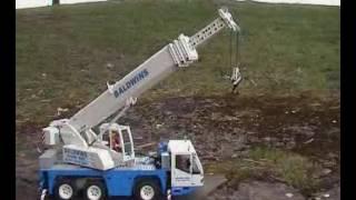 cara kerja boom mini crane
