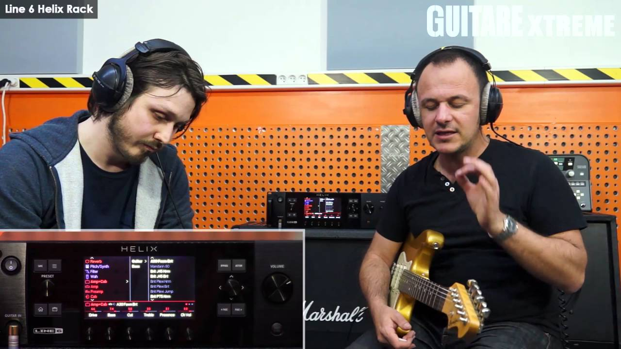 Guitare Xtreme #74 - Comparatif simulateurs - Test Line 6 ...