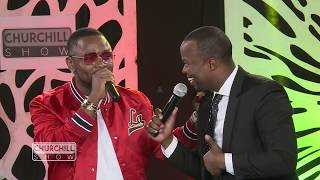 "Ommy Dimpoz Debuts ""Yanje"" on Churchill Show"