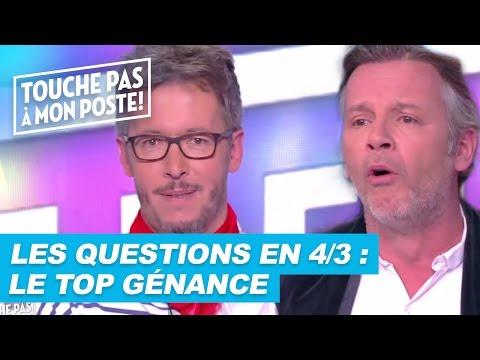 Les questions en 4/3 de Jean-Luc Lemoine : Le top génance