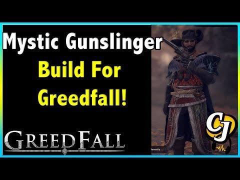 MOST POWERFUL BUILD IN GREEDFALL?! MYSTIC GUNSLINGER BUILD!!    GREEDFALL BUILDS!
