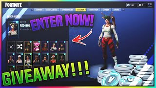 GIVEAWAY OVER!! Fortnite Account For FREE! + FREE VBUCKS!| TONS OF RARE SKINS! [PS4 + XBOX + PC]