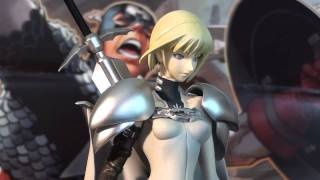 R56 Megahouse Claymore Clare 1/8 PVC Statue Review