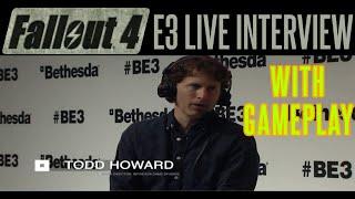 fallout 4 e3 gameplay fo4   director todd howard interview   bethesda   gamescom