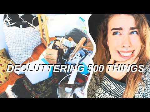 EASY GUIDE: HOW TO DECLUTTER 500+ THINGS IN 30 DAYS
