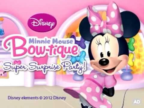 Disney Minnie Mouse Bow Tique Super Surprise Party Leapfrog Youtube