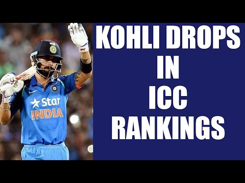 Virat Kohli slips to 3rd position in ICC rankings, Dhoni moves up to 13   Oneindia News