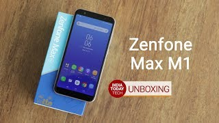 zenfone max m1 unboxing and quick review