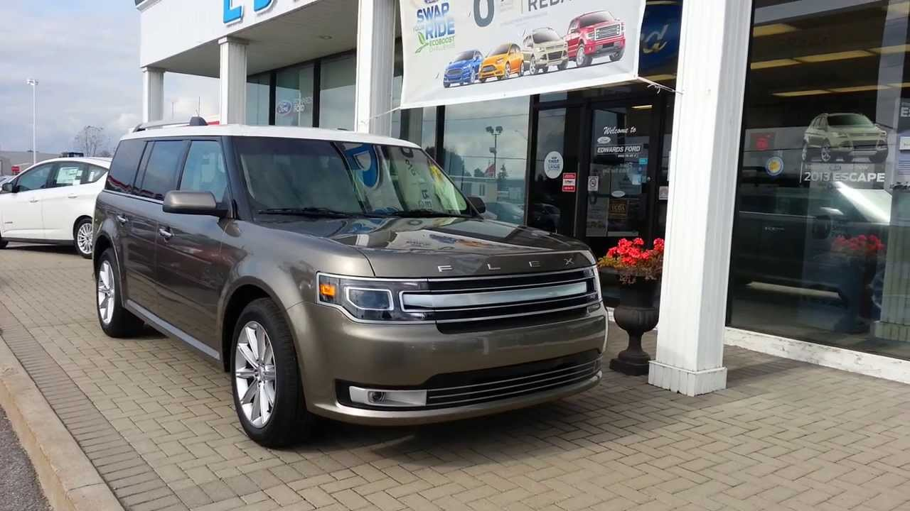 2014 ford flex video tour and changes review edwards ford kingston youtube