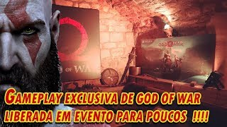 God of War   gameplay exclusiva de god of war antes do lançamento para poucos felizardos!