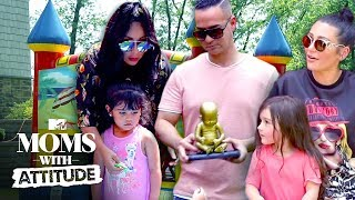 The Situation, Snooki, & JWoww Bring The 'Jersey Shore' Home | Moms with Attitude | MTV