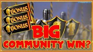 BIG Bonus NEW SLOTS + Black Knight Community WINNING??