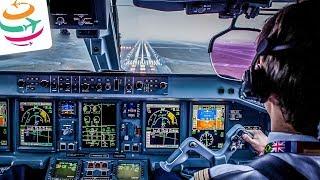 Was passiert im Cockpit? Hinter den Kulissen eines Linienfluges | GlobalTraveler.TV
