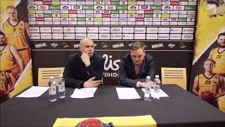 BC Nokia vs Helsinki Seagulls Lehdistötilaisuus 3 3 2019