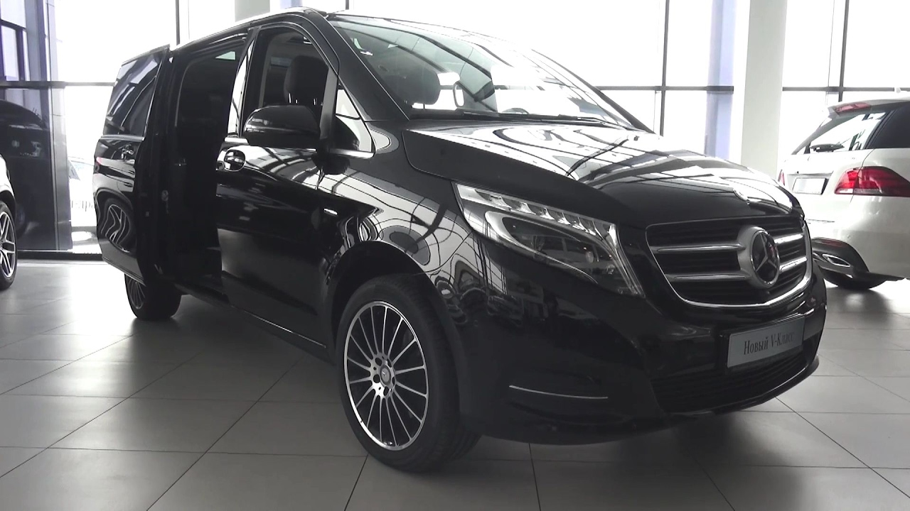2017 Mercedes-Benz V250d (W447) Exclusive Long 4Matic Обзор. - YouTube