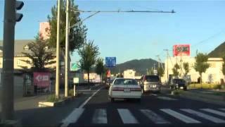 国道13号上山市金瓶交差点~山形駅前(経路:国道13号 山形県道16号)