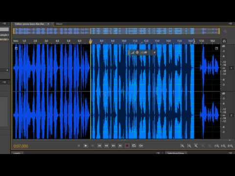 Convert FLAC To MP3 Using Adobe Audition CS6