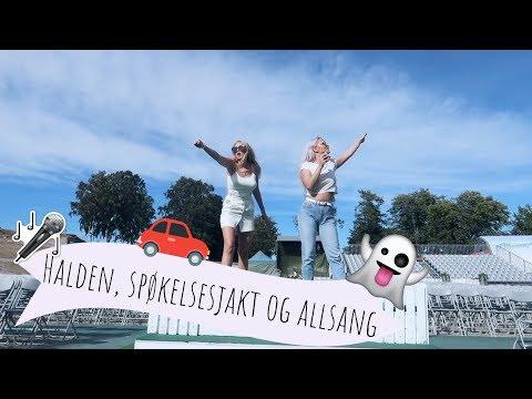 HALDEN- SPØKELSESJAKT OG ALLSANG