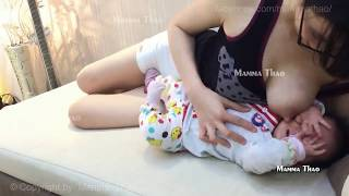Tutorial menyusui bayi breastfeeding baby