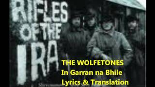 I Garran Na Bhile:Lyrics:The Wolfetones