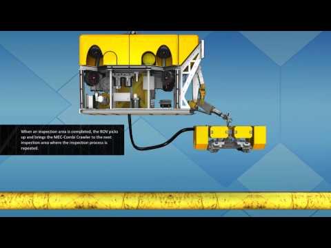 MEC-Combi Crawler for Subsea Pipeline Inspection - Innospection