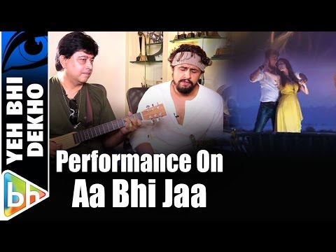Sonu Nigam | Jeet Gannguli Perform On 'Aa Bhi Jaa Tu Kahin Se'