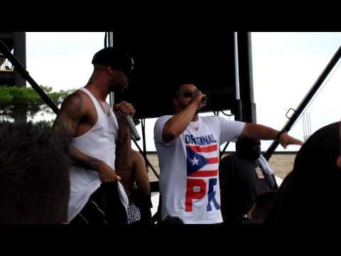 Pump It Up - Joe Budden w/ the rest of Slaughterhouse at Rock The Bells