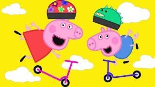 Peppa Pig Italiano 🌟 I Monopattini 🌟 Collezione Italiano - Cartoni Animati