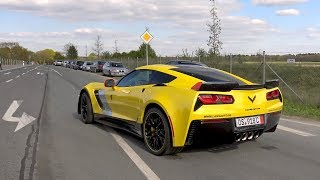 CORVETTE Z06 C7 R EDITION - BRUTAL ACCELERATIONS!