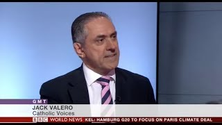 Jack Valero on BBC World News on charges against Cardinal Pell
