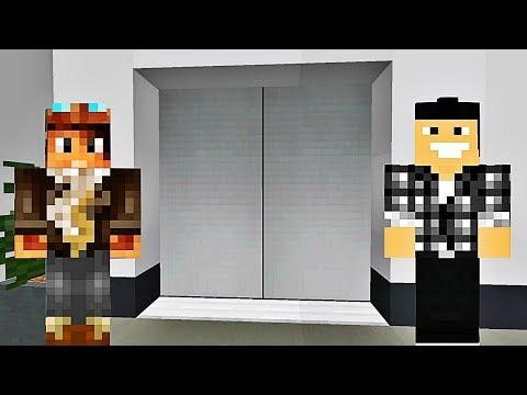 L'ASCENSEUR SECRET !   Minecraft Break Elevator