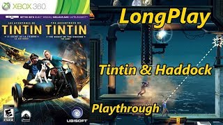 The Adventures of Tintin: The Secret of the Unicorn Game - Longplay (Tintin And Haddock) Walkthrough