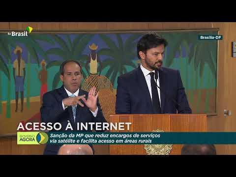 #AoVivo: Presidente Jair Bolsonaro sanciona MP 1018/2020