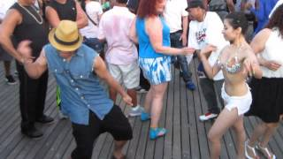 CONEY ISLAND DANCERS 6-29-13  JAY R