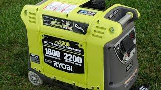 ryi2200 ryobi inverter generator vs honda eu3000is