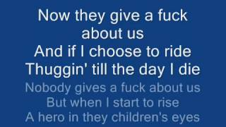 Tupac They Dont Give A Fuck About Us (Lyrics)