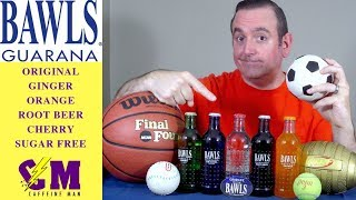 Bawls Guarana Soda Product Review. Highly Caffeinated Soda, not an energy drink review.