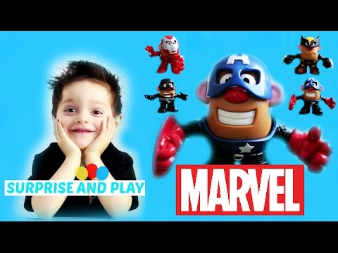 Mr Potato Head Marvel Mixable Mashable Heroes Super Hero Collector Pack