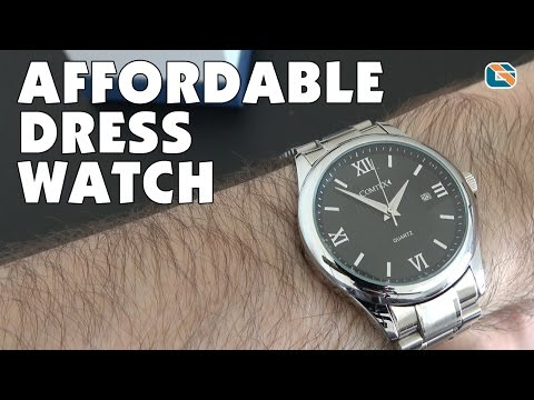 Comtex Gents Quartz Dress Watch Review #watch #DressWatch