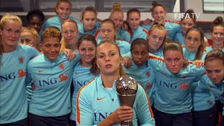 Lieke Martens reaction - The Best FIFA Women's Player 2017