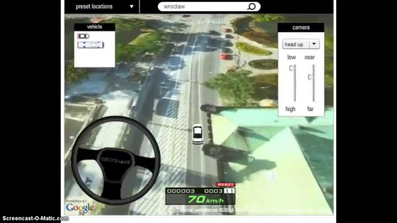 Car Driving Simulator On Google Earth Online And Free Youtube