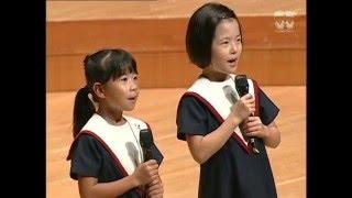 童謡メドレー 唱歌 「かなりや」 ひばり児童合唱団 創立70周年記念公演 07 曲目 chorus メドレー