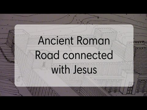 Israel Encounter Tour- Ancient Roman Road connected with Jesus