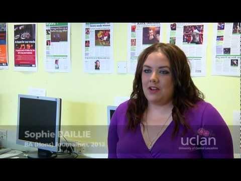 Sophie Baillie, BA (Hons) Journalism - UCLan